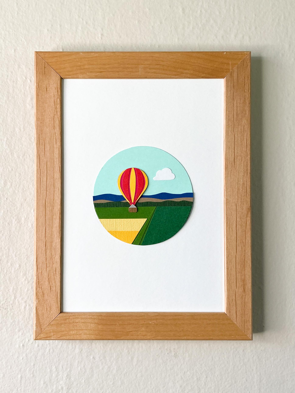 Walla Walla Balloon Stampede | 5 x 7 Cut Paper $180