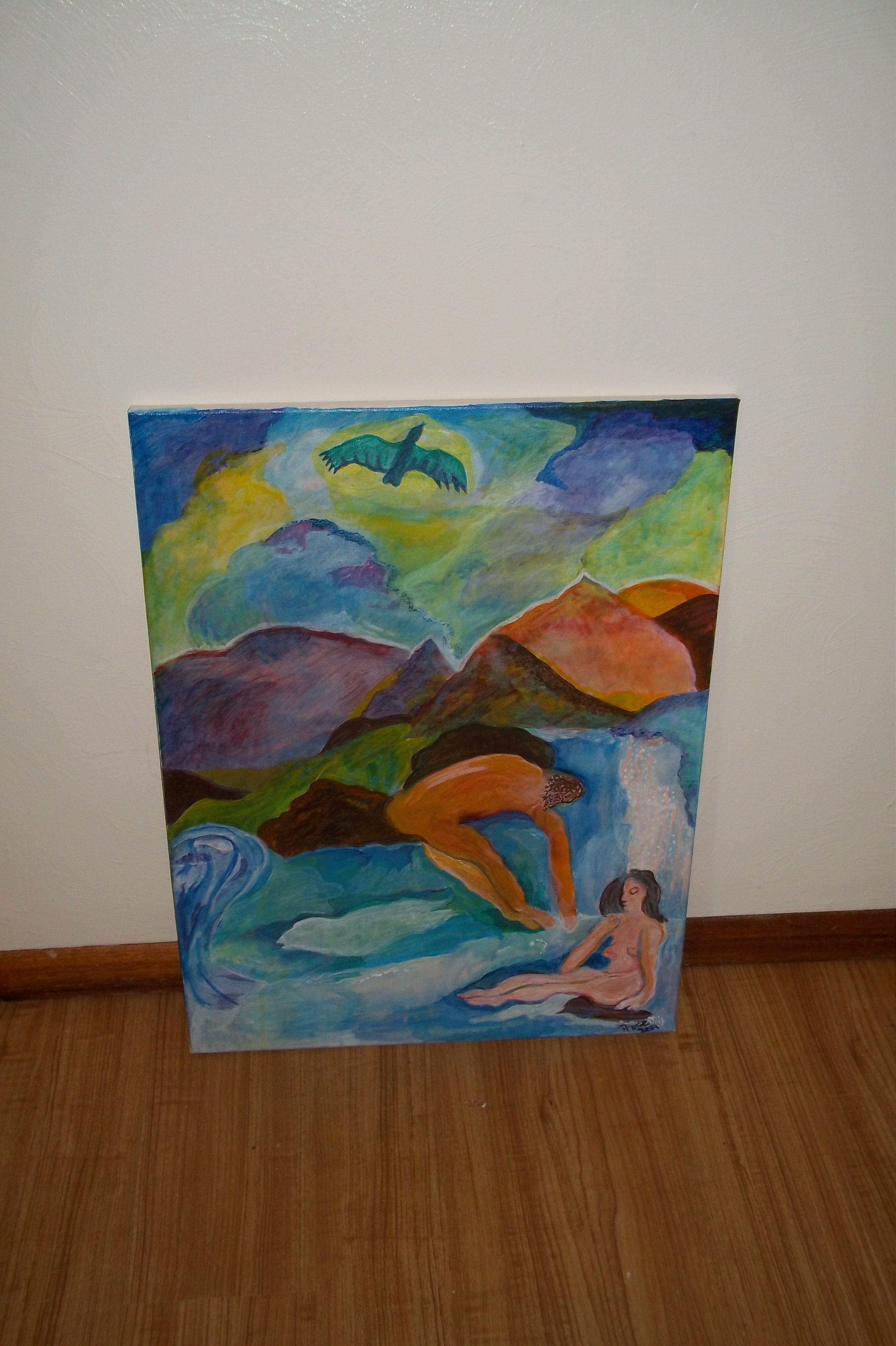 Renewal (acrylic) - 18 X 24 - $300